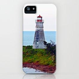 Lighthouse Cape Jourimain N-B iPhone Case