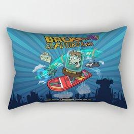 Back to the Futur-o-Rama Rectangular Pillow