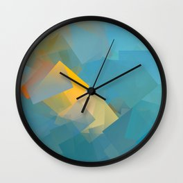 Cubism Abstract 184 Wall Clock
