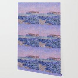 "Claude Monet ""Shadows on the Sea. The Cliffs at Pourville"" Wallpaper"