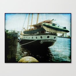 American Rover Port Side Aft Canvas Print