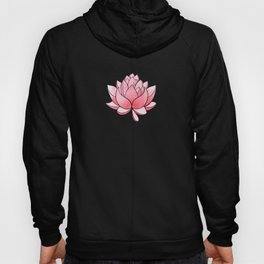Lotus Blossom - Blush Pink and Metallic Gold Hoody