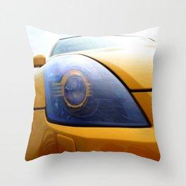 The Eye Of A Transformer Throw Pillow