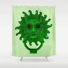 Sanctuary Knocker Shower Curtain