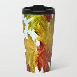 Autumn Leaf Brite Travel Mug