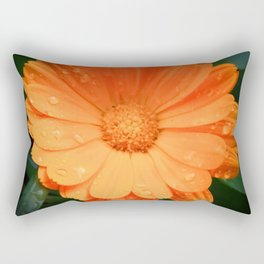 Captivating Calendula Rectangular Pillow