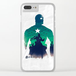 captain in the war Clear iPhone Case