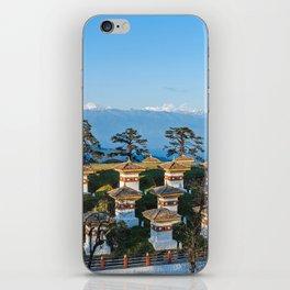 Bhutan: Sunset on Dochula Pass iPhone Skin