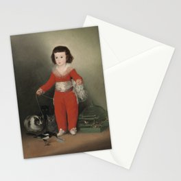 Manuel Osorio Manrique de Zuniga by Francisco Goya, 1788 Stationery Cards