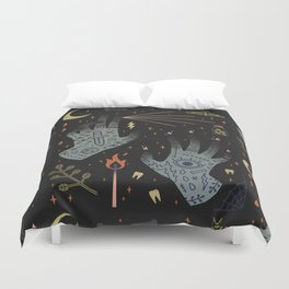 A Curse Upon You! Duvet Cover