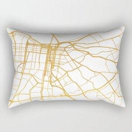 LOUISVILLE KENTUCKY CITY STREET MAP ART Rectangular Pillow
