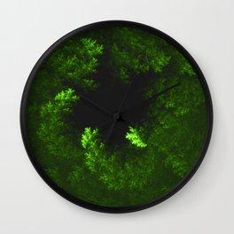 Foliage Black Hole Wall Clock