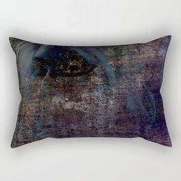 Ghostly Woman Rectangular Pillow