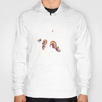 unicorn Hoodies featuring Unicorn - I'm a maturely speaking unicorn!!! by LucyDynamite