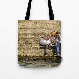 Varanasi, Ganges Tote Bag