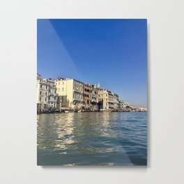 Venetian Waters Metal Print