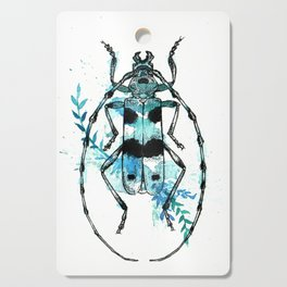 Turquoise Beetle Cutting Board