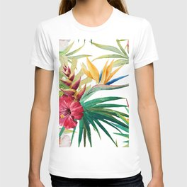 Tropical Floral Pattern 05 T-shirt