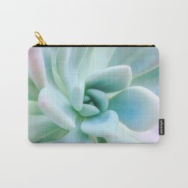Soft Succulent Carry-All Pouch