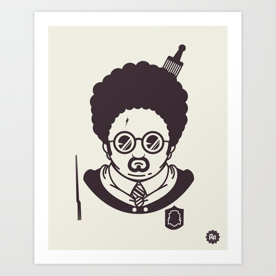 Barry Potter Art Print