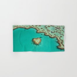 Heart Reef Hand & Bath Towel