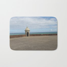 View from the Fort - Old San Juan, Puerto Rico Bath Mat