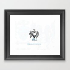 Lord J Logo Framed Art Print