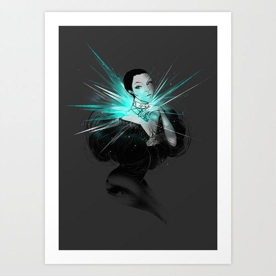 Diamonds. Art Print