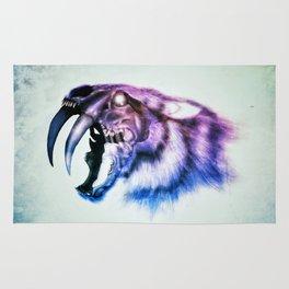 Sabretooth Tiger Skull // FrankenKitty Rug