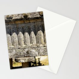 Stone shadows II Stationery Cards