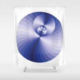Blue magic D1 Shower Curtain