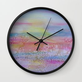 Frosted Abstract, 1 Wall Clock