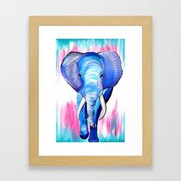 Stunning Elephant Framed Art Print