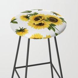Lovely Sunflower Bar Stool