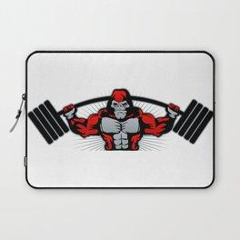 Strong monkey athlete Laptop Sleeve