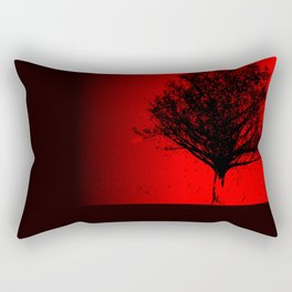 Red Maple Rectangular Pillow