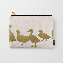Golden Ducks Carry-All Pouch