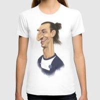 zlatan T-shirts featuring Ibrahimovic - PSG by Sant Toscanni