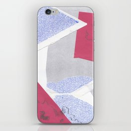 confused shocked thrilled iPhone Skin