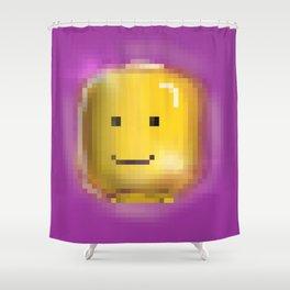 Pixel Illuminati Shower Curtain