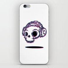 3D Skull iPhone & iPod Skin
