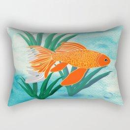 The Goldfish Rectangular Pillow
