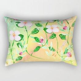 Garden Frenzy Day Rectangular Pillow