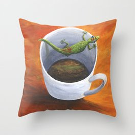 Coffee With A friend Throw Pillow