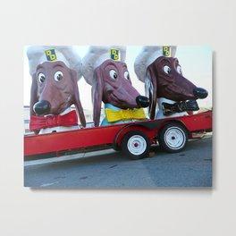 Doggie Diner heads, Fort Mason, San Francisco, CA Metal Print