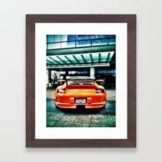 Muy Naranja Framed Art Print