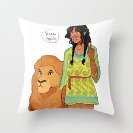 Rhea - Spread the Love Throw Pillow