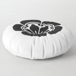 Oda Clan · Black Mon Floor Pillow