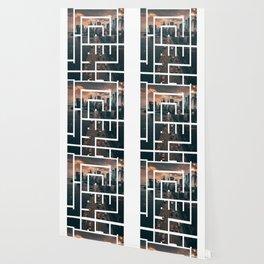 Callidraphy of The City Wallpaper