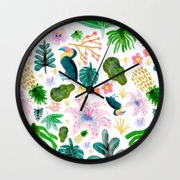 Exotic Pattern Wall Clock